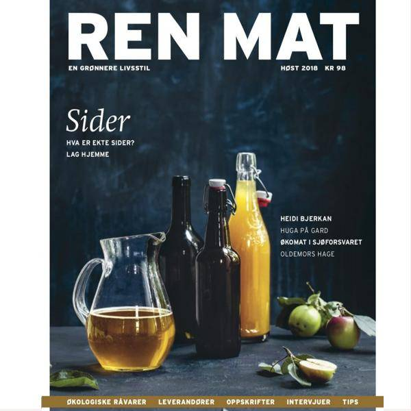 Bilde av Ren Mat magasinet 2018 Høst Sider