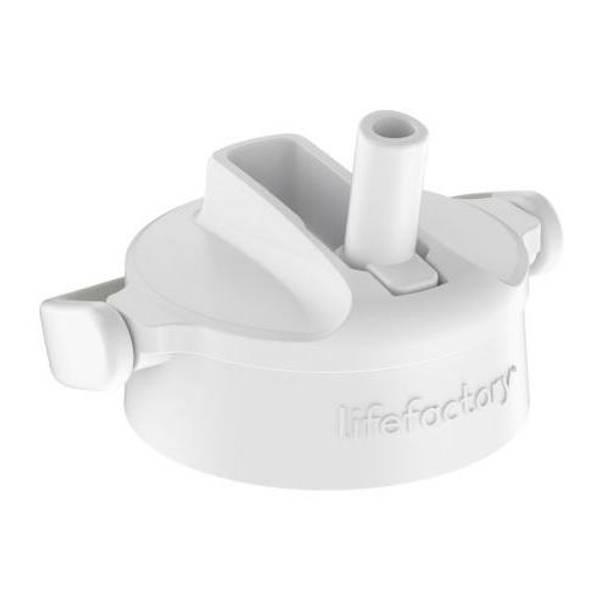 Bilde av Lifefactory Cap Pivot Straw White