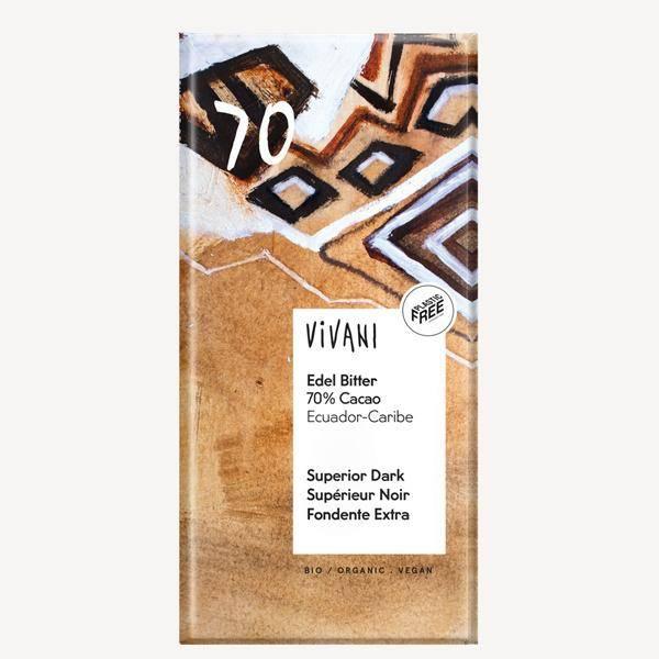 Bilde av Vivani Superior Dark 70 % Cocoa 100 gram
