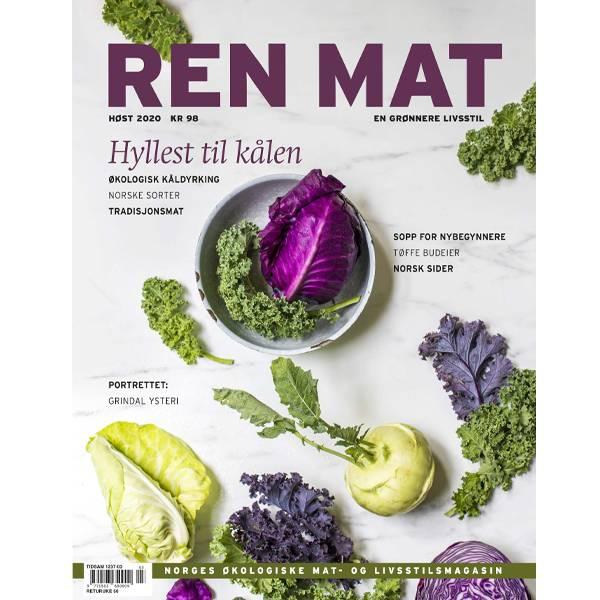 Bilde av Ren Mat magasinet 2020 Høst Kål