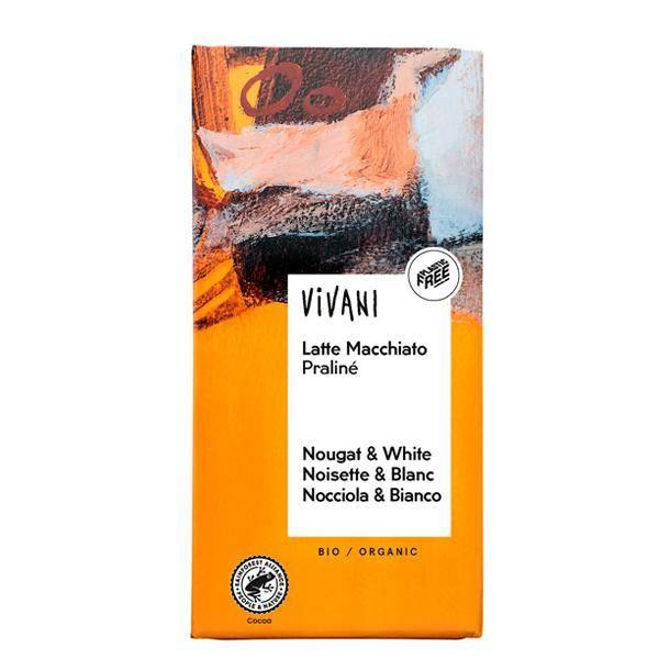 Bilde av Vivani Melkesjokolade Latte Macchiato Praline 100 gram