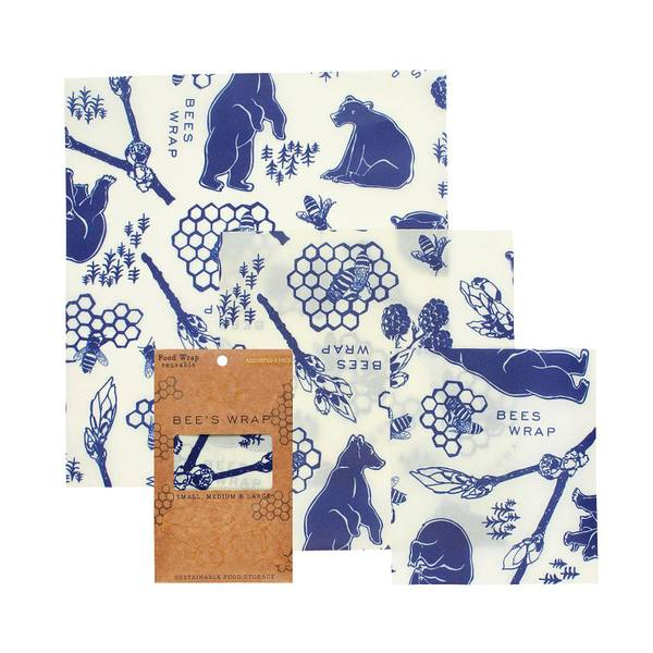 Bilde av Bees Wrap - Assorted 3 pack Bears & Bees