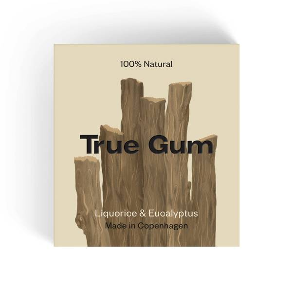 Bilde av True Gum Liqorice & Eucalyptus
