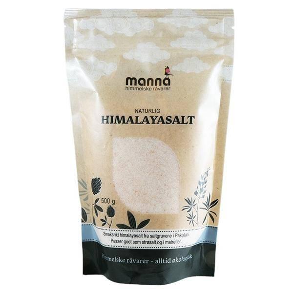 Bilde av Manna Himalayasalt fint bordsalt 500 gr