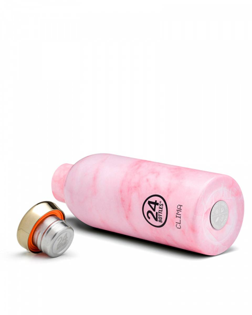 24Bottles Clima 850 ml Pink Marble