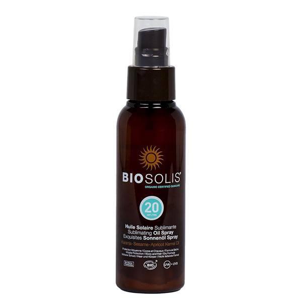 Bilde av BIOSOLIS Sun Oil Spray SPF 20 *1 igjen*