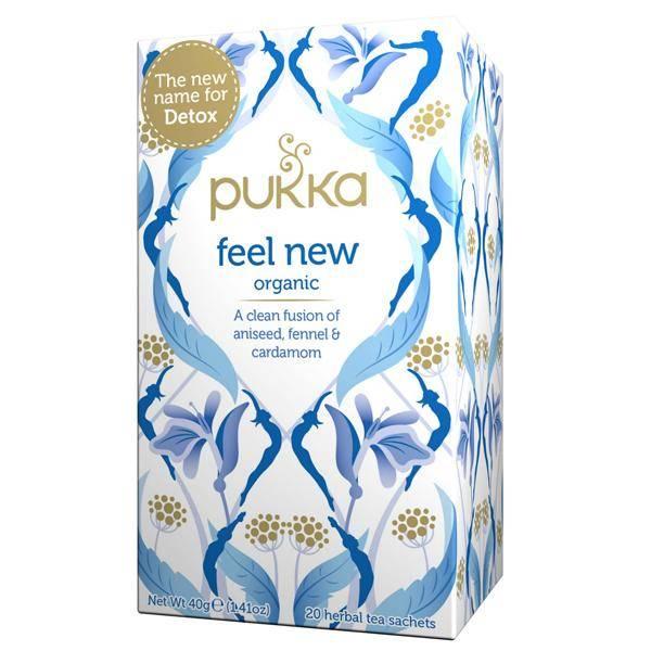 Bilde av Pukka Feel New tea 20 poser