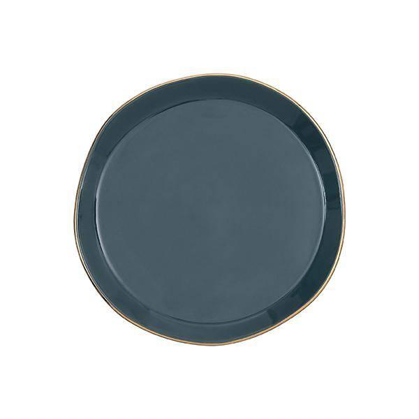 Bilde av UNC Good Morning Plate Blue Green 17 cm *2 igjen*